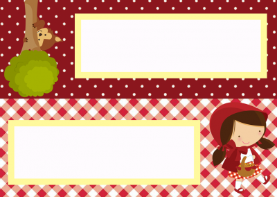 Placa-de-mesa-Chapeuzinho-Vermelho