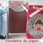 Sacolinha de papel – Passo a passo