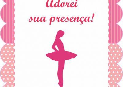 Tag escrita bailarina 6