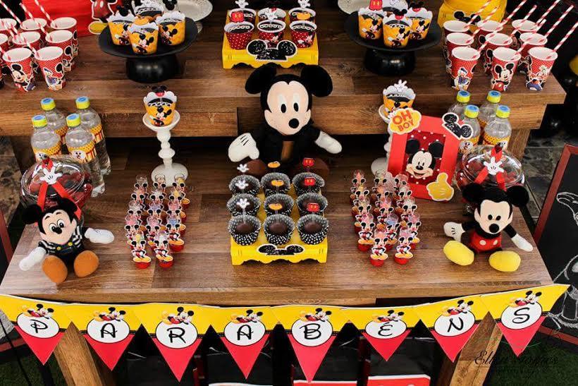 decoracao mickey inspire sua festa