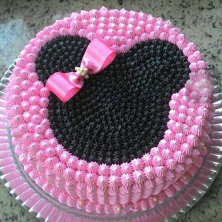 Bolo Minnie Rosa Inspire sua Festa 1