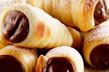 Canudinho de chocolate – Doces para festa