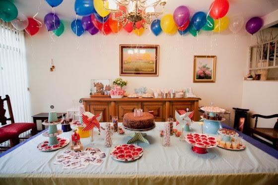 Como decorar uma festa de aniversário infantil em casa