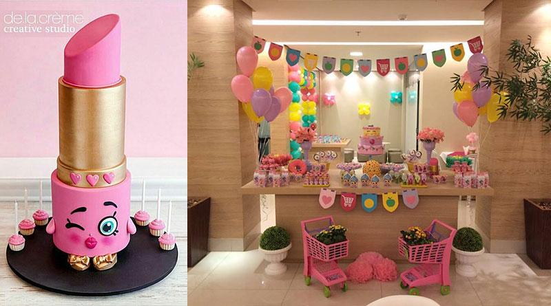 Decoração para Festa infantil Shopkins – Sugestões