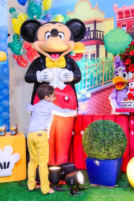 4 anos Luiz Davi - Disney