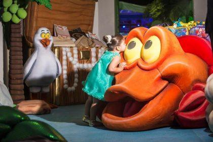O sucesso dos bonecos 3D nas festas infantis
