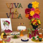 Decoração inspirada em Frida Kahlo