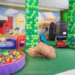 Como organizar o espaço das brincadeiras numa festa infantil