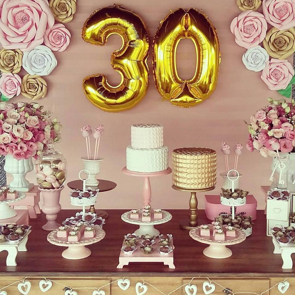 De repente 30 mais de 30 lindas ideias inspire sua festa for Decoracion para aniversario