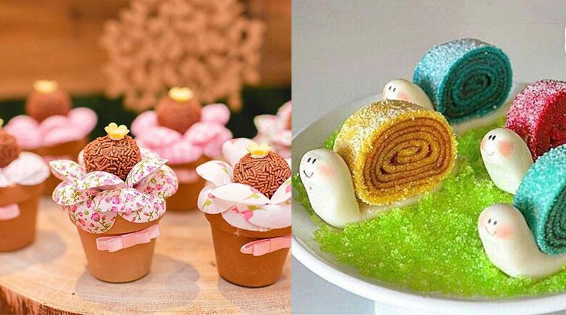 Jardim Encantado: mais de 20 ideias de doces