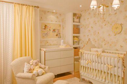 Ideias de quartos de bebês para meninas
