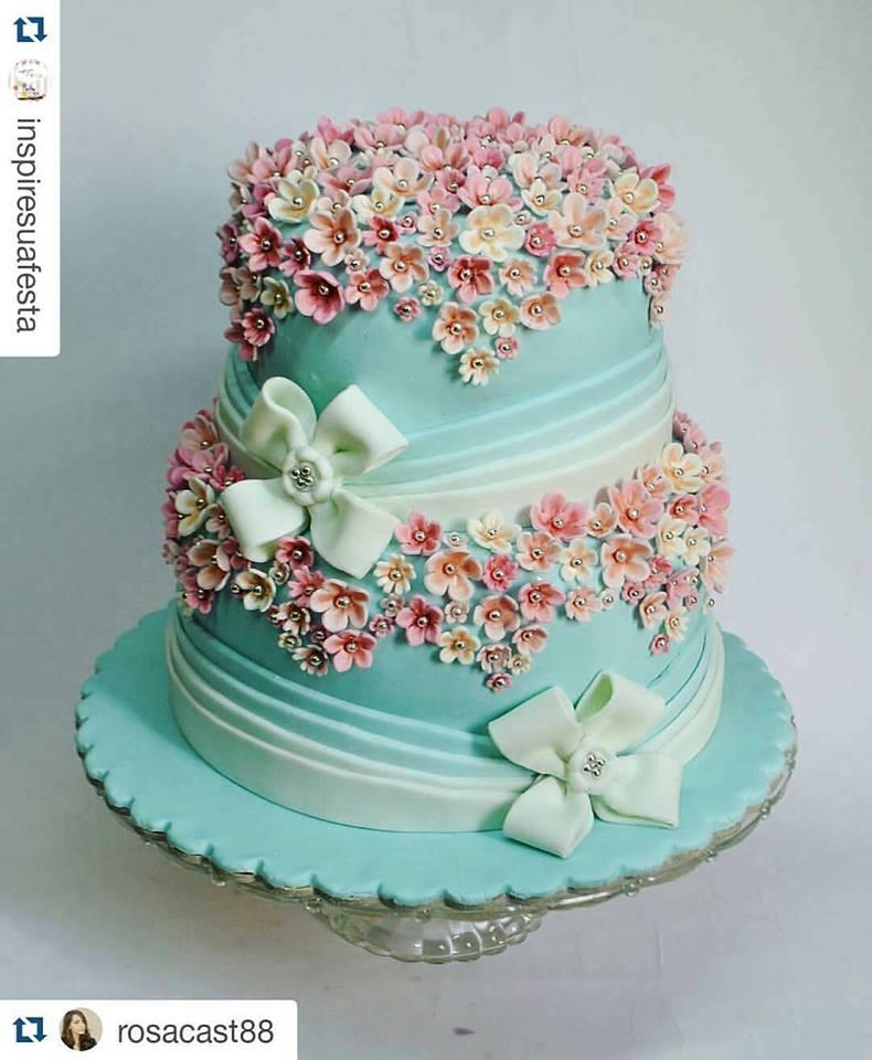 Mais de 20 ideias de bolos com o tema jardim encantado inspire sua by rosacast88 thecheapjerseys Choice Image
