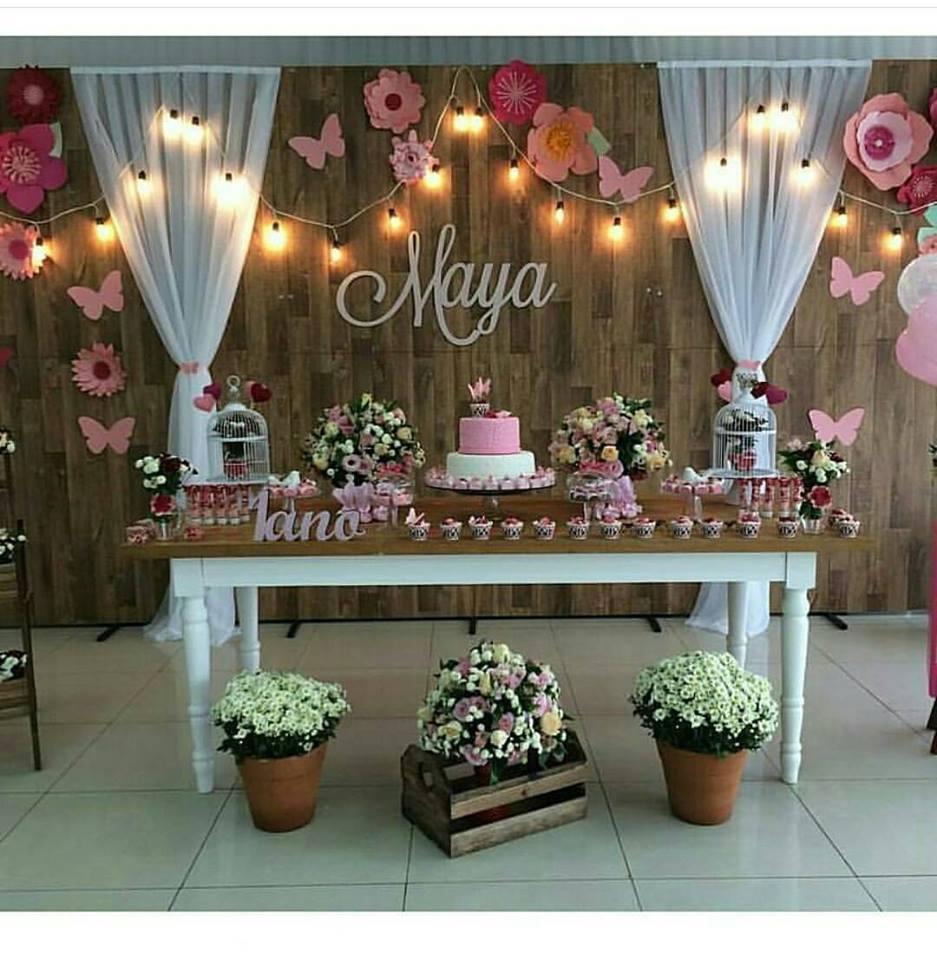 Inspire sua Festa u00ae Blog Festa e Maternidade # Decoração De Festa De Aniversario Jardim Encantado