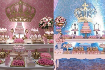 Decoração Princesa Realeza: mais de 50 ideias