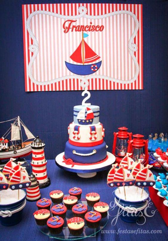 Festa marinheiro mais de 50 ideias inspire sua festa festas por festasefitas altavistaventures Image collections