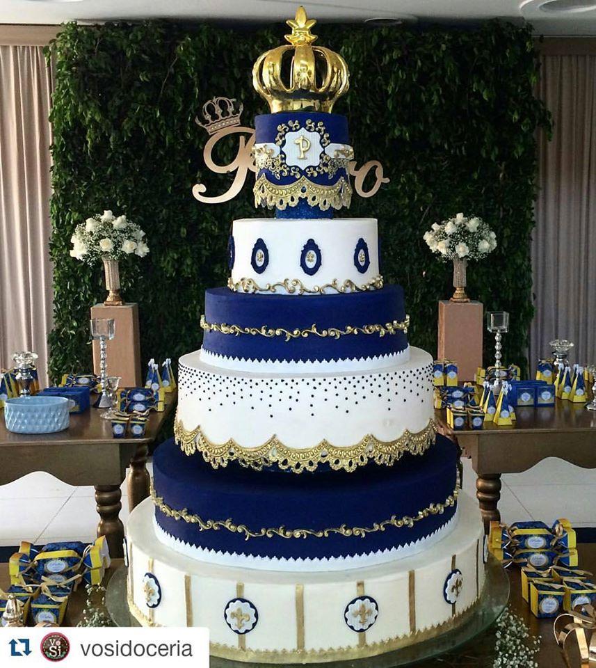 Decoracao Principe Realeza Inspire Sua Festa Centro Mesa