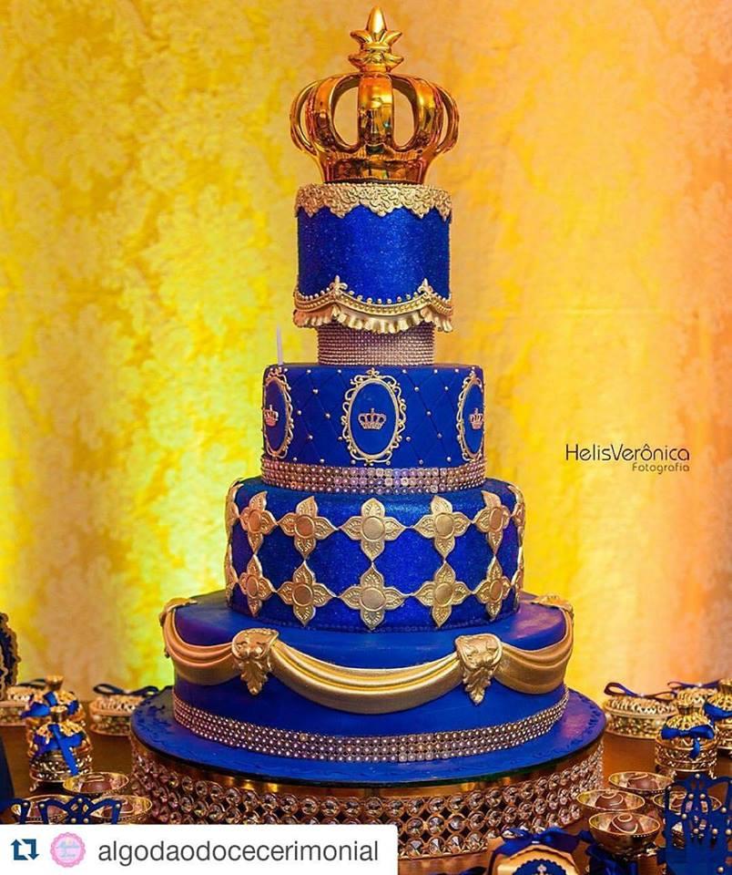 Decoraç u00e3o Príncipe Realeza mais de 50 ideias u2013 Inspire sua Festa -> Decoração De Festa Infantil Realeza
