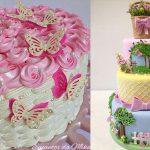 Mais de 20 ideias de bolos com o tema Jardim Encantado