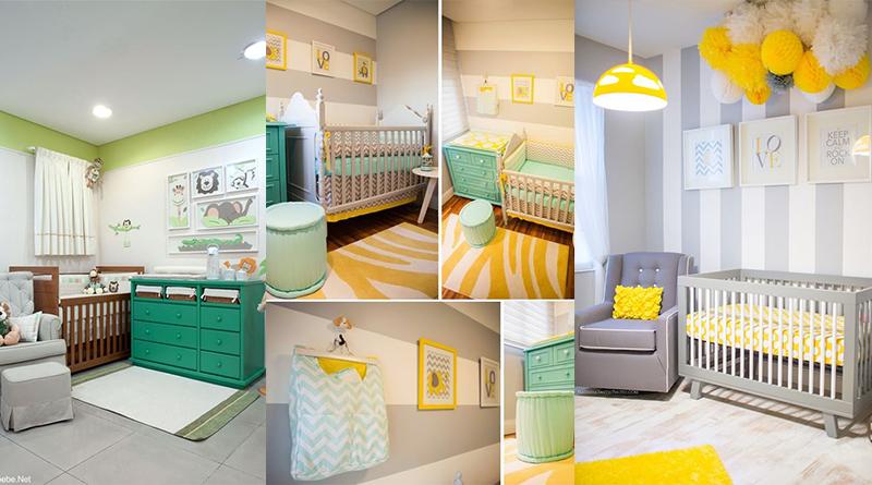 Ideias de quartos de bebês para meninos