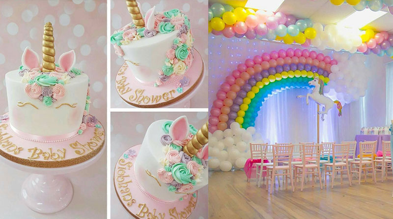 Festa Unicórnio mais de 30 lindas ideias u2013 Inspire sua Festa -> Decoração De Festa Infantil Tema Unicornio