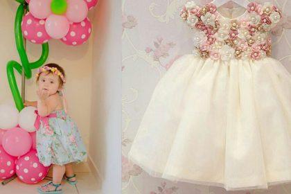 Jardim Encantado: Modelo de vestidos