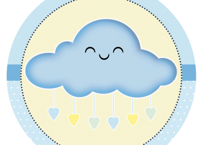 Tag-redonda-personalizada-gratis-chuva-de-bencaos-menino