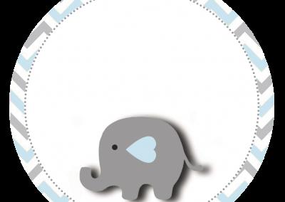 Tag-redonda-personalizada-gratis-elefantinho-azul