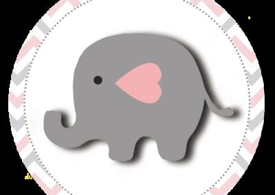 Tag-redonda-personalizada-gratis-elefantinho-meninas