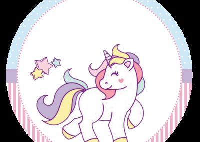 Tag-redonda-personalizada-gratis-unicornio