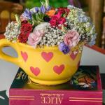 Como usar flores na decoração de festas infantis