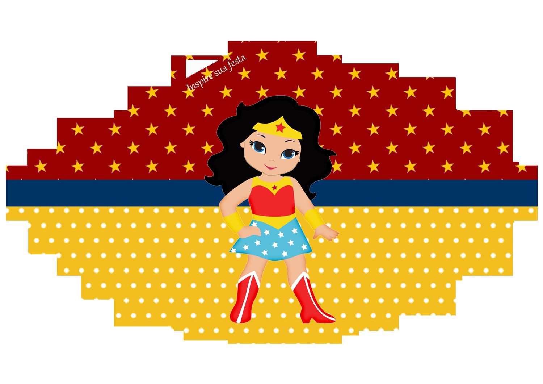 Mulher Maravilha Kids Personalizados Gratuitos Inspire