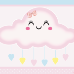 Chuva de amor Meninas: Kit festa grátis para imprimir
