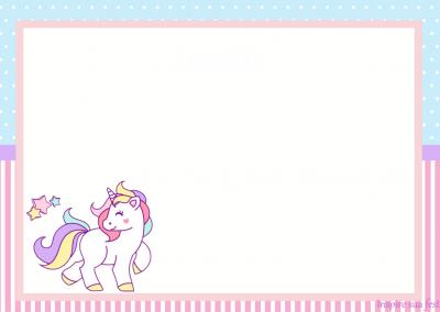 modelo-Convite-personalizado-gratuito-unicornio