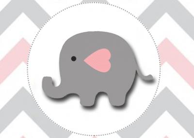 rotulo-agua-personalizada-gratis-elefantinho-meninas
