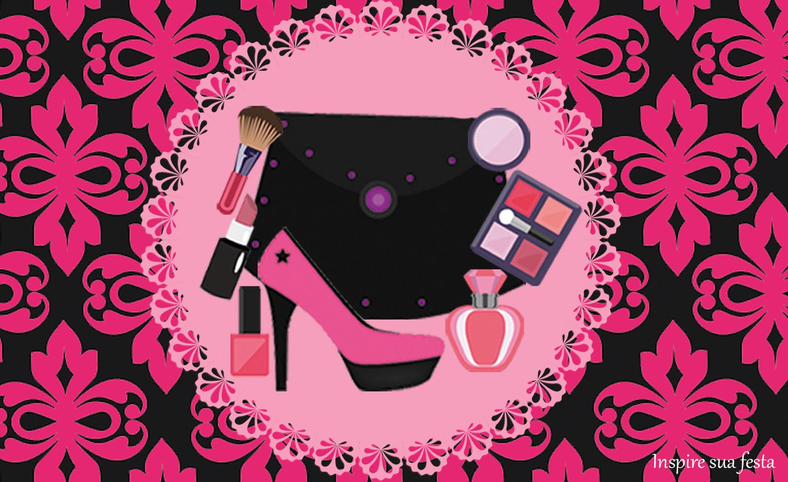 Maquiagem: Kit festa grátis para imprimir
