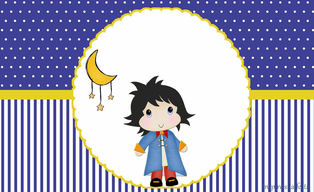 Pequeno Príncipe Moreno: Kit festa infantil grátis para imprimir