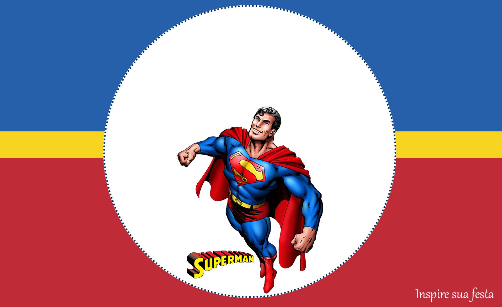 Super Homem: Personalizados gratuitos