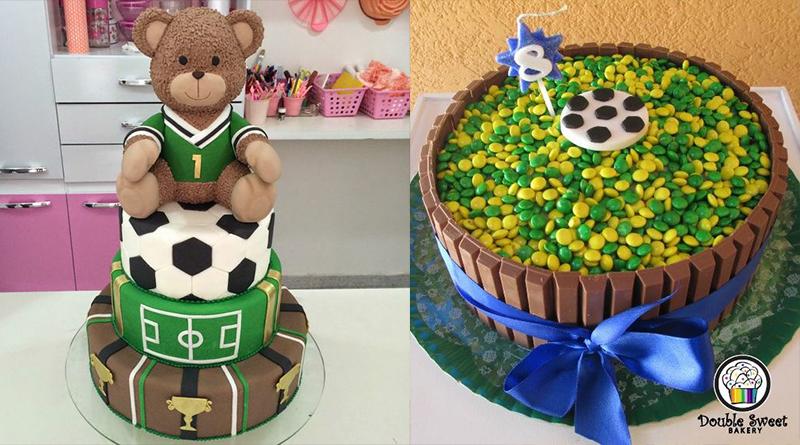 Brasil – Copa do Mundo – Bolos e Cupcakes – Sugestões