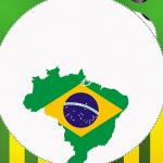 Brasil – Copa do Mundo – Kit festa grátis para imprimir
