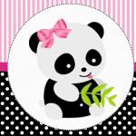 Panda rosa: Personalizados gratuitos