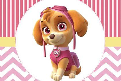 Skye Patrulha Canina – Personalizados gratuitos