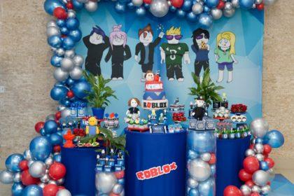 Festa Roblox – Arthur 9 anos