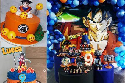 Festa Dragon Ball Z e Dragon Ball super – Mais de 50 ideias