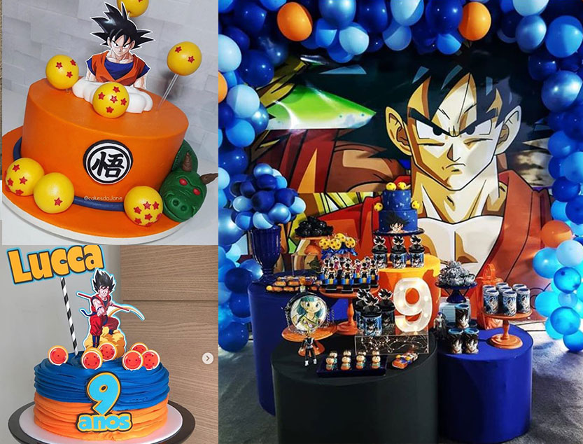 Festa Dragon Ball Z e Dragon Ball super – Mais de 50 ideias