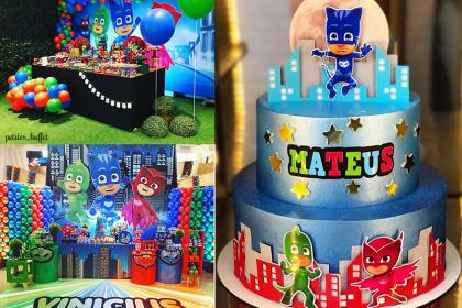 Festa PJ Masks – Mais de 50 ideias