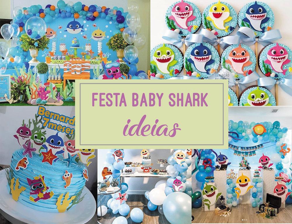 Festa Baby Shark – Mais de 50 ideias para se inspirar