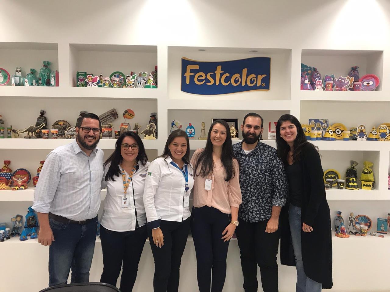 Visita à fábrica Festcolor