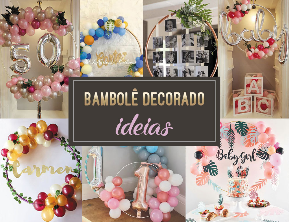 Bambolê decorado – Inspirações