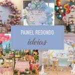 Painel redondo – Tendência de festa