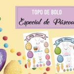 Topo de bolo para Páscoa – Especial de Páscoa